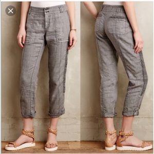 Anthropologie Hei Hei Marlena Linen Pants 27